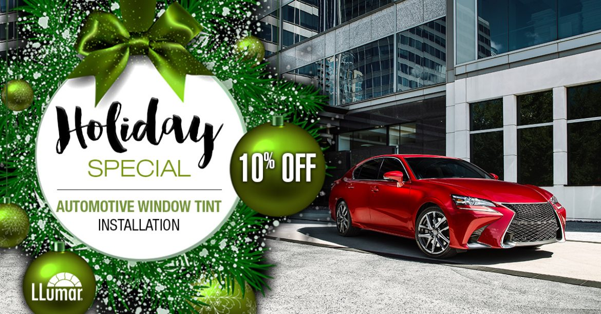 Holiday Automotive Window Tint Sale
