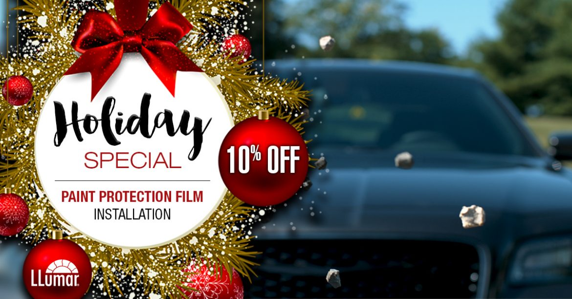 Holiday Paint Protection Film Sale | Custom Tints | Wentzville, MO