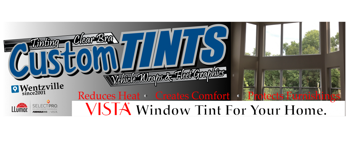 Tint Your Home / Office with Vista Window Film | Custom Tints | Wentzville